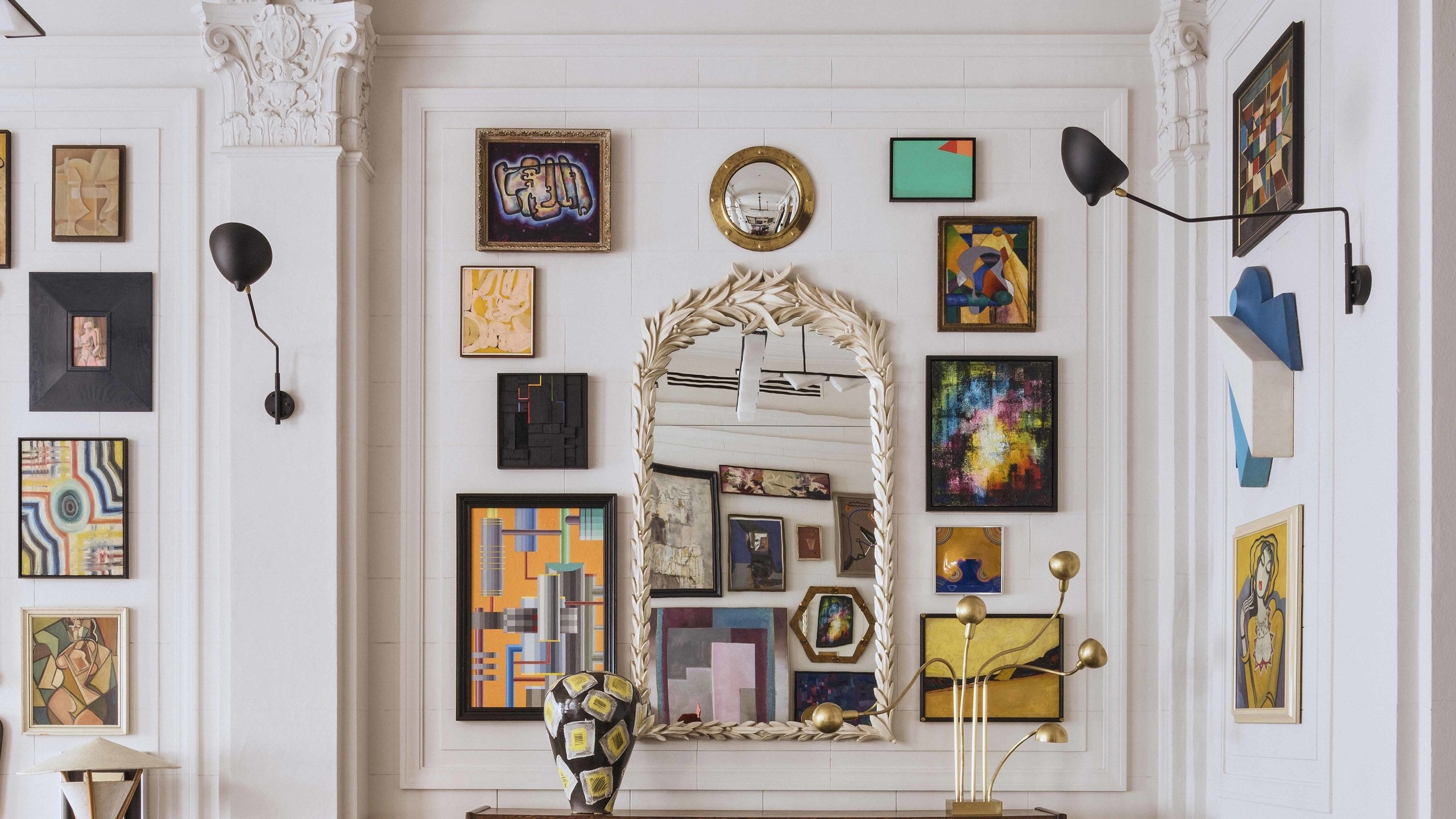 Best Tips For a Unique Gallery Wall - homey homies
