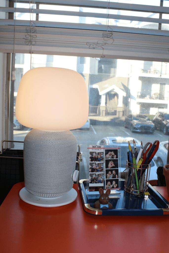 Ikea X Sonos speaker lamp