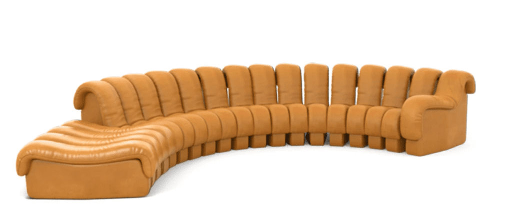 sculptural couch | sculptural furniture
