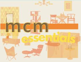 mid century modern essentials: amazon shopping list