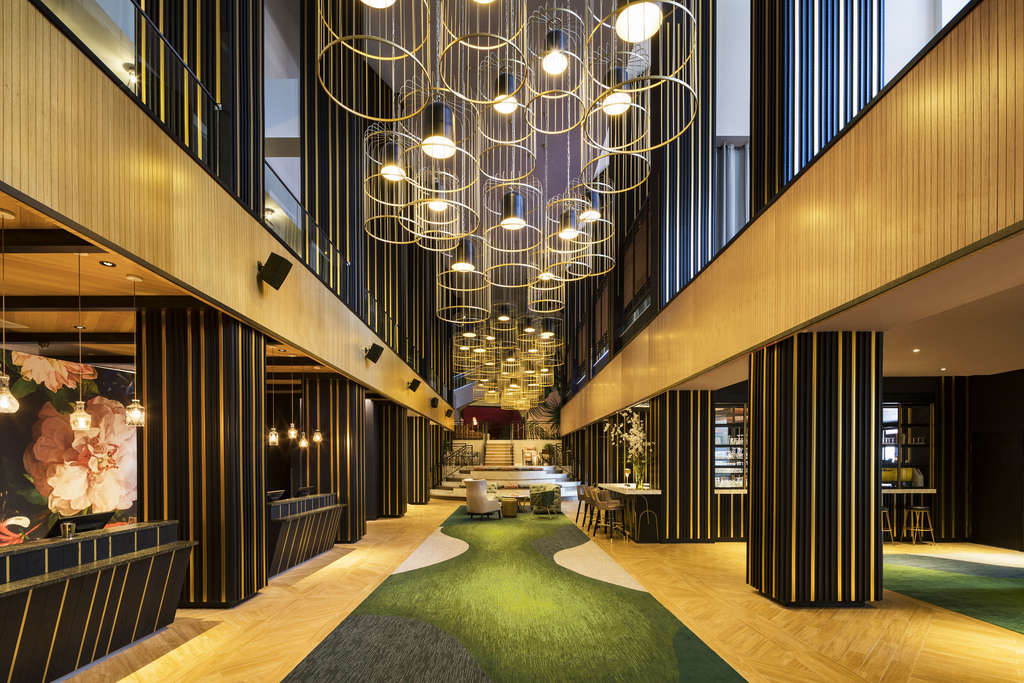 The W Atlanta midtown location main lobby